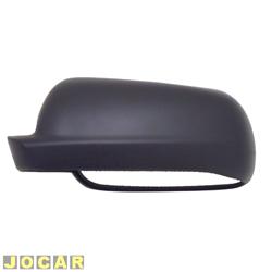 Capa do retrovisor - alternativo - Gol/Parati/Saveiro 2000 até 2008 - Golf 1999 até 2007 - Santana e quantun 1999 até 2006 - preta - lado do motorista - cada (unidade)