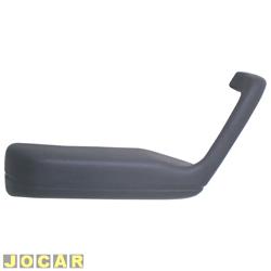 Descansa braço - Gol 1988 até 1994 - Modelo GL - cinza - lado do motorista - cada (unidade)