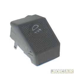 Interruptor do farol - alternativo - Gol/Parati/Saveiro GL 1988 até 1994 - 1 estágio - cada (unidade)