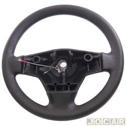 Volante - Valepur - Gol 2000 até 2005  - exceto turbo - mod. original - sem tampa da buzina - preto - cada (unidade) - VI-1167