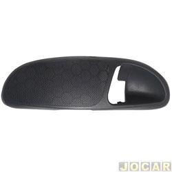 Moldura da maçaneta interna - alternativo - Gol 2000 até 2005 - cinza escuro - dianteiro - lado do motorista - cada (unidade)