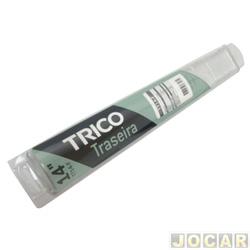 Limpador do vidro traseiro - Trico - Gol 2006 até 2008/ Palio 2001 até 2007 - Pageiro TR4 2002 até 2009 - 14 - cada (unidade) - TT14F