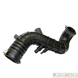 Mangueira do filtro de ar - Jahu - Gol/Parati 1.0 turbo 2000 até 2004 - qualidade original - cada (unidade) - 76389-2