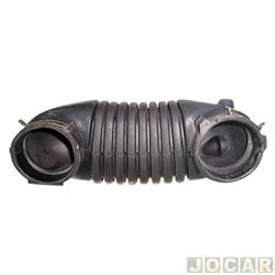 Mangueira do filtro de ar - Jahu - Gol/Parati/Saveiro 1.6/1.8/2.0 1995 até 1999 - motor AP - qualidade original - cada (unidade) - 76271-0