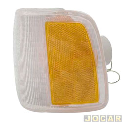 Lanterna dianteira - alternativo - NBS ou IPV - Gol 1991 até 1994 - com defletor amarelo - lado do motorista - cada (unidade) - 0560069