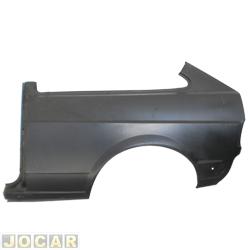 Lateral traseira - alternativo - Gol - 1980 até 1986 - do vidro para baixo - para pintar - lado do motorista - cada (unidade)