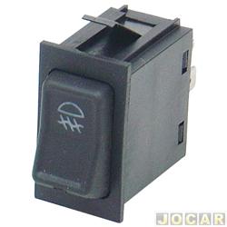 Interruptor do farol de milha - alternativo - Gol 1988 até 1994 - Santana 1984 até 1990 - 1 estágio - cada (unidade)