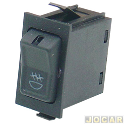 Interruptor do farol de milha - alternativo - KTR - Gol/Parati/Saveiro/Santana/Quantum 1984 até 1992 - 2 estágios - modelo CL - cada (unidade) - 3813790