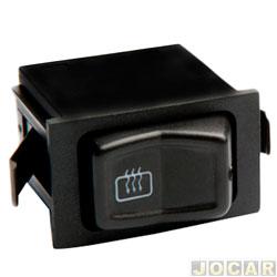 Interruptor do desembaçador traseiro - Kostal - Gol 1988 até 1994 - Santana 1984 até 1990 - cada (unidade) - 03813756