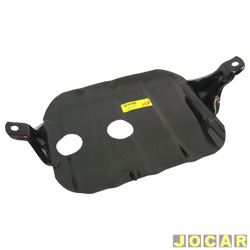 Protetor do cárter - Makity - Gol/Parati - 1.0 - 1997 até 2008 - sem kit de instalação - preto - cada (unidade) - 6000
