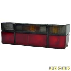 Lanterna traseira - alternativo - NBS ou IPV - Gol 1987 até 1994 - fumê - lado do passageiro - cada (unidade) - 0480002