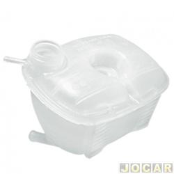 Reservatório de água do radiador - alternativo - Gonel - Gol/Parati/Saveiro/Voyage/Santana 1987 até 1999 - para sensor - cada (unidade) - G-1002