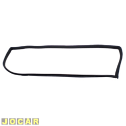 Borracha da janela lateral traseira - Parati até 1995 - sem encaixe para friso  - lado do motorista - cada (unidade)