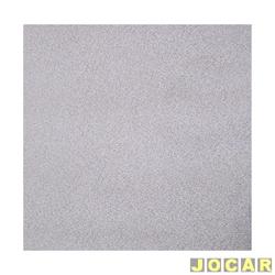 Forração do teto (tapeçaria) - Parati - 1986 até 1995 - salpicado - cinza - jogo