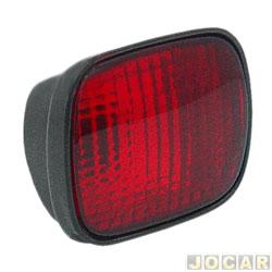 Lanterna do para-choque - alternativo - Parati 1996 até 2000 - traseiro - vermelha - cada (unidade)
