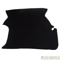 Carpete do porta-malas - alternativo - Parati 1982 até 1995 - preto - cada (unidade)