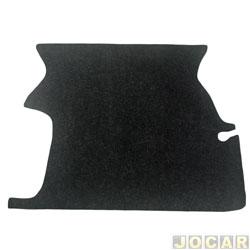 Carpete do porta-malas - Parati 1996 em diante - preto - cada (unidade)