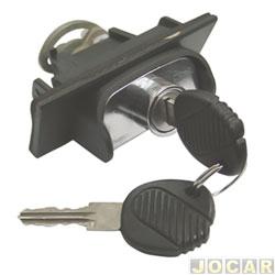 Maçaneta da tampa traseira - Valeo/Cibié - Parati 1996 até 1999 - bate fecha - mecânica - cada (unidade) - VW02966