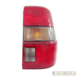 Lanterna traseira - alternativo - Acrilux - Santana Quantum 1992 até 1998  - fumê - lado do passageiro - cada (unidade) - 062029