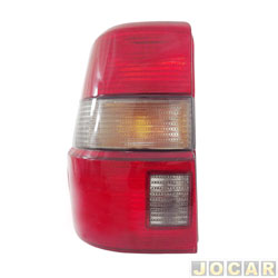 Lanterna traseira - alternativo - Acrilux - Santana Quantum 1992 até 1998  - fumê - lado do motorista - cada (unidade) - 062019