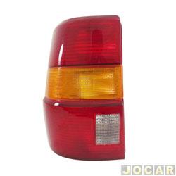 Lanterna traseira - alternativo - Acrilux - Santana Quantum 1992 at� 1998  - lado do motorista - cada (unidade) - 061011