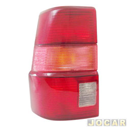 Lanterna traseira - alternativo - Acrilux - Santana Quantum 1999 até 2002 - lado do motorista - cada (unidade) - 063012