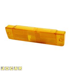 Lente da lanterna dianteira - alternativo - Santana GLS - 1987 até 1992 - âmbar (amarela) - lado do motorista - cada (unidade)