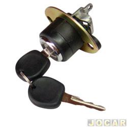 Cilindro do capô traseiro - Santana 1991 até 1998 - mecânico - cada (unidade)