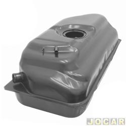 Tanque de combustível - alternativo - Igasa - Santana/Santana Quantum 1991 até 1995 - 75L - bóia grande - com injeção eletrônica - cada (unidade) - 1706