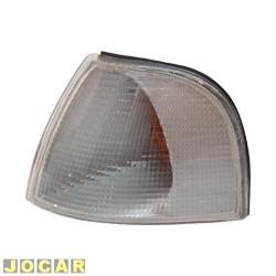 Lanterna dianteira - alternativo - Cofran - Santana/Quantum - 1999 até 2006 - encaixe Cibié - cristal (branca) - lado do motorista - cada (unidade) - 3359.3