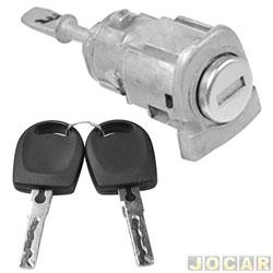 Cilindro da chave da porta - Polo 03/ - Fox - com chave - lado do motorista - cada (unidade)