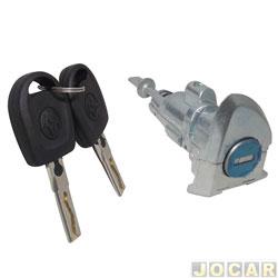 Cilindro da chave da porta - Tiguan/Amarok 2010 até 2017 -Taureg 2004 até 2011 - com chave - lado do motorista - cada (unidade)