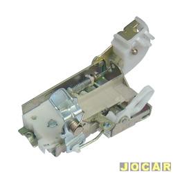 Fechadura da porta - alternativo - Logus/Pointer/Escort 1993 até 1996 - para trava elétrica - lado do passageiro - cada (unidade)