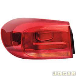Lanterna traseira - Hella - Tiguan 2011 em diante - lateral  - lado do motorista - cada (unidade) - 2SD.010.738.091
