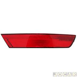 Lanterna do para-choque - Fitam - Fox/CrossFox 2009 até 2014 - defletor - vermelha - traseiro - lado do passageiro - cada (unidade) - 33083-D