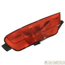 Lanterna do para-choque - Fitam - Fox/CrossFox 2009 até 2014 - com luz de neblina - vermelha - traseiro - lado do motorista - cada (unidade) - 33084-E