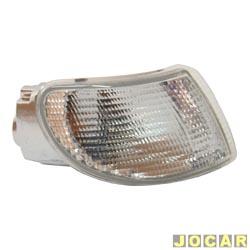 Lanterna dianteira - alternativo - Silo Lanternas - Logus/Pointer - 1993 até 1997 - cristal (branca) - lado do passageiro - cada (unidade) - 463310