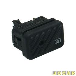Interruptor do desembaçador - Kostal - Logus/Pointer 1993 até 1997 - preto - cada (unidade) - 3353050
