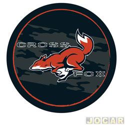 Capa de estepe - Comix Acessórios - CrossFox 2006 em diante - raposa - cada (unidade) - CC538