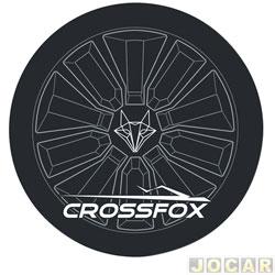 Capa de estepe - Comix Acessórios - CrossFox 2006 em diante - Outlines - cada (unidade) - CC612