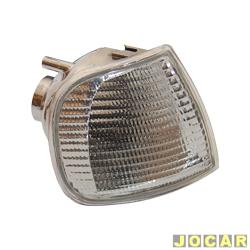 Lanterna dianteira - alternativo - Silo Lanternas - Polo Classic at� 2000 -Cordoba-Ibiza 1994 at� 1999 - cristal (branca) - lado do passageiro - cada (unidade) - 467310