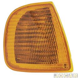 Lanterna dianteira - Fitam - Polo Classic até 2000 Cordoba-Ibiza 1994 até 1999 - âmbar (amarela) - lado do passageiro - cada (unidade) - 33029-D