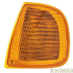 Lanterna dianteira - Fitam - Polo Classic até 2000 Cordoba-Ibiza 1994 até 1999 - âmbar (amarela) - lado do motorista - cada (unidade) - 33029-E