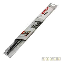 Palheta do limpador do vidro traseiro - Bosch - Fox/SpaceFox/CrossFox 2003 até 2014 - Onix 2012 até 2016 - Idea/Palio 2010 em diante - 12 - cada (unidade) - 3397011594