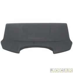 Tampão do porta-malas - Newtec - Fox 2003 até 2014 - cinza escuro - cada (unidade) - NT3300VW