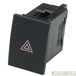 Interruptor de emergência - alternativo - Polo 2003 até 2014 - cada (unidade)