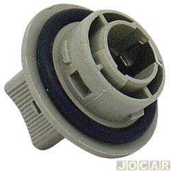 Soquete da lanterna dianteira - alternativo - Log/Esc/Vers/Roy/Ver 93 em diante Gol 95/99        - cada (unidade)