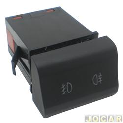 Interruptor do farol de milha - Kostal - Fox 2003 até 2009 / SpaceFox 2006 até 2009 - para milha e lanterna de neblina - preto - cada (unidade) - 3041770