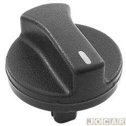 Botão do ar - alternativo - Logus - Pointer  - preto - cada (unidade)