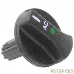 Botão do ar condicionado - alternativo - Logus/Pointer - 1993 até 1997  - cada (unidade)